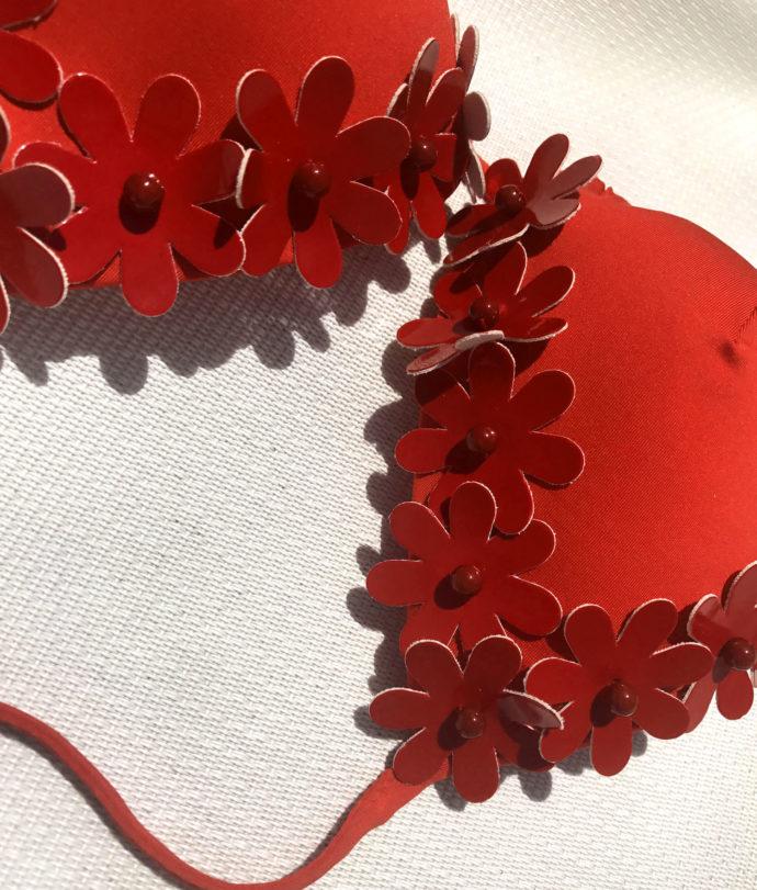 nadia guidi flora red bikini