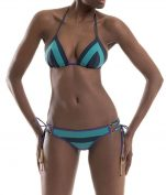 nadia guidi bikini strings purple